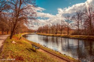 Stockholm - Canal of Djurgarden by olideb08
