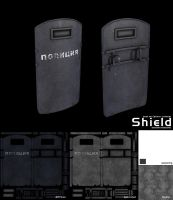Police shield by StellarCreed