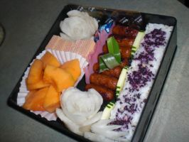 Roses Bento by level5pencil