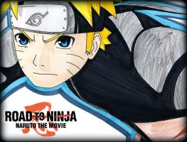 Road To Ninja Naruto The Movie by Oskar-Draws