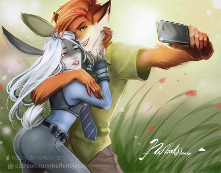 Zootopia: Selfietopia by Hassly