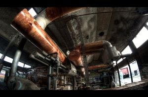 Pipes and rust by bubus666