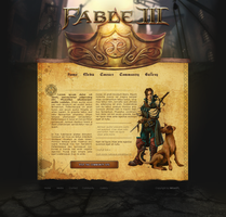 Fable, Web by Traxlaren