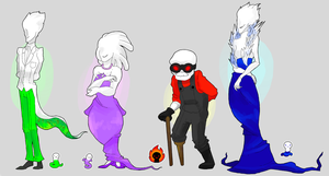 humanized (guardianized?) denizens