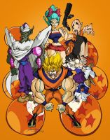 Dragon Ball Z by joshcorris