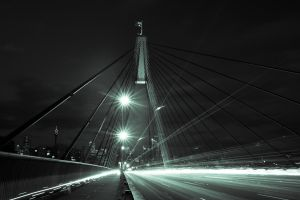Anzac Bridge East by youwha