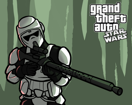 GTA: Star Wars - Scout by SmacksArt