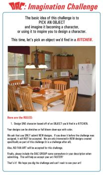 Imagination Challenge Rules: Kitchen by JoeCostantini
