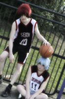 Seirin High - Kuroko no Basuke Cosplay by LeatherAnd-Chocolate