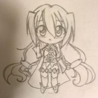 Chibi Style Practice 1 by ChocolateDollie