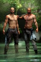 Silas and Nic by jrmalone