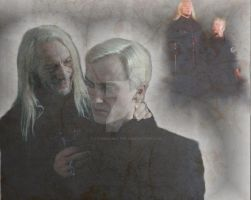 Draco and Lucius by x-TheMadHatter-x