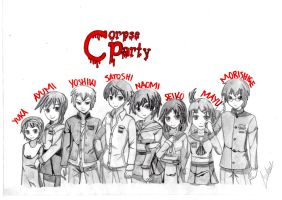 Corpse Party by TopHatSketcher