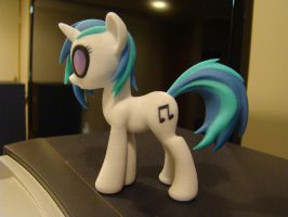DJ Pon-3 3D-printed figure. by markv12