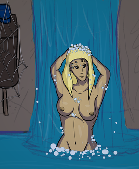 March Spider 10: Shower Time by SpiderPope