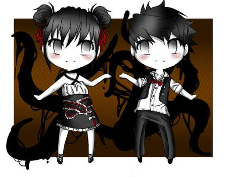 Custom: Slender Twins by Decora-Adopts