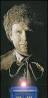 Colin Baker - the 6th Doctor by caldwellart