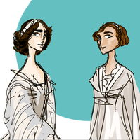 Sisters of the Romanovs . Top pair by Julia-USC