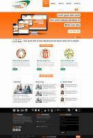 Web Design and Development Company Layout by swati05