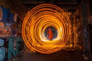 Tunnel of Fire by j3nkk1