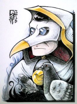 Art Journal Entry #3 - Uvi and Dugeon by TheGreatHushpuppy