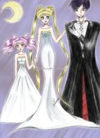 Sailor Moon - colored by magicbut3rfly