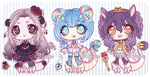 SET PRICE Nentoryu adoptable batch -OPEN- by Miichau