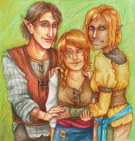 Tabris Family Portrait by SoleiBee
