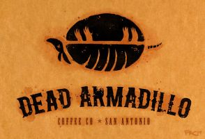 Dead Armadillo Coffee Co by grungepuppy