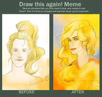 Draw this again Meme by moonylady