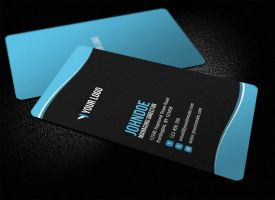 Sleek Rounded Corner Business Card V2 by glenngoh