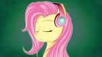 Fluttershy Headphones by Skardan