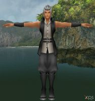 Young Xehanort for XNALara by LexaKiness