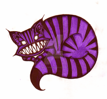 a cheshire cat by beetle-eyes