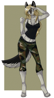 Camo Canine by l-Blair-l