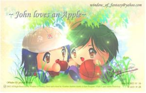 My brother loves Apple by Kauthar-Sharbini