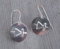 Diode Earrings by nicholasandfelice
