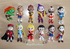 Street fighter characters by Eingel91