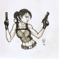 Tomb Raider markers by MetaWorks