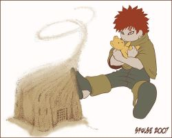 Gaara - Sandcastle Color by telophase