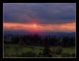 Sunset Willamette Valley by quadstar41562