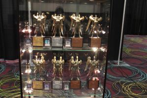 Trophies for the Yu-Gi-Oh! World Championship by Pharaohmones