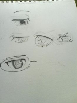 Eyes from Blue Exorcist by Coloringbook4U