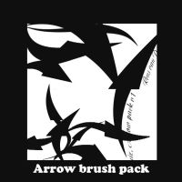Arrow pack Photoshop by QuizRens