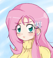 Flutter Bust1 Low Res by StaleMeat