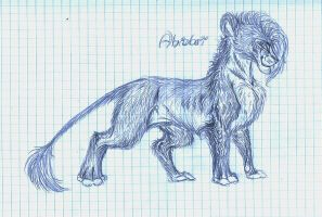 School sketching - Abidari by TigaLioness