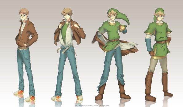 Commission: Link's transformation by Zellie669-commishes