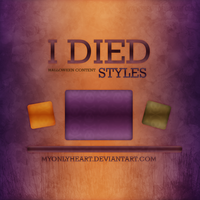 I Died Styles {Halloween Content} by MyOnLyHeart