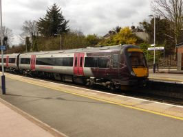 170 638 arriving at Cheltenham by Torre7