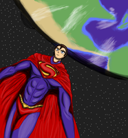 The Man of Steel by DeviantK14